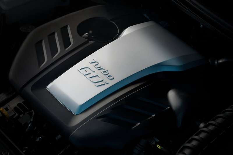 Hyundai Veloster Turbo engine