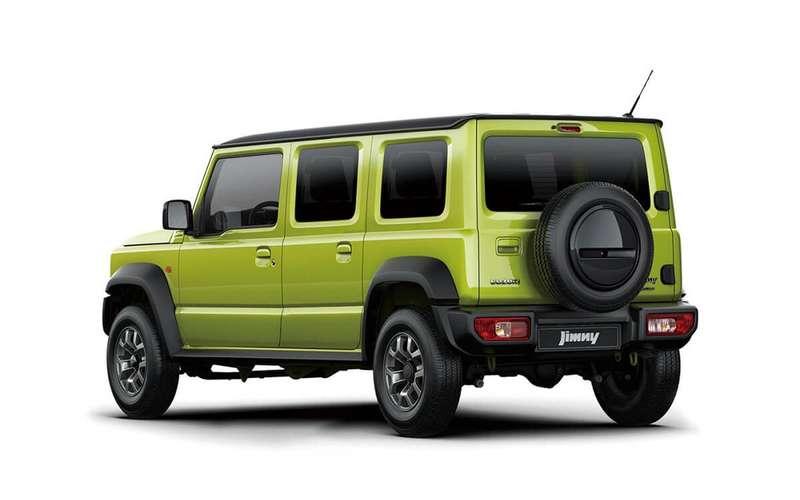 Пятидверку Suzuki Jimny представят в2022 году