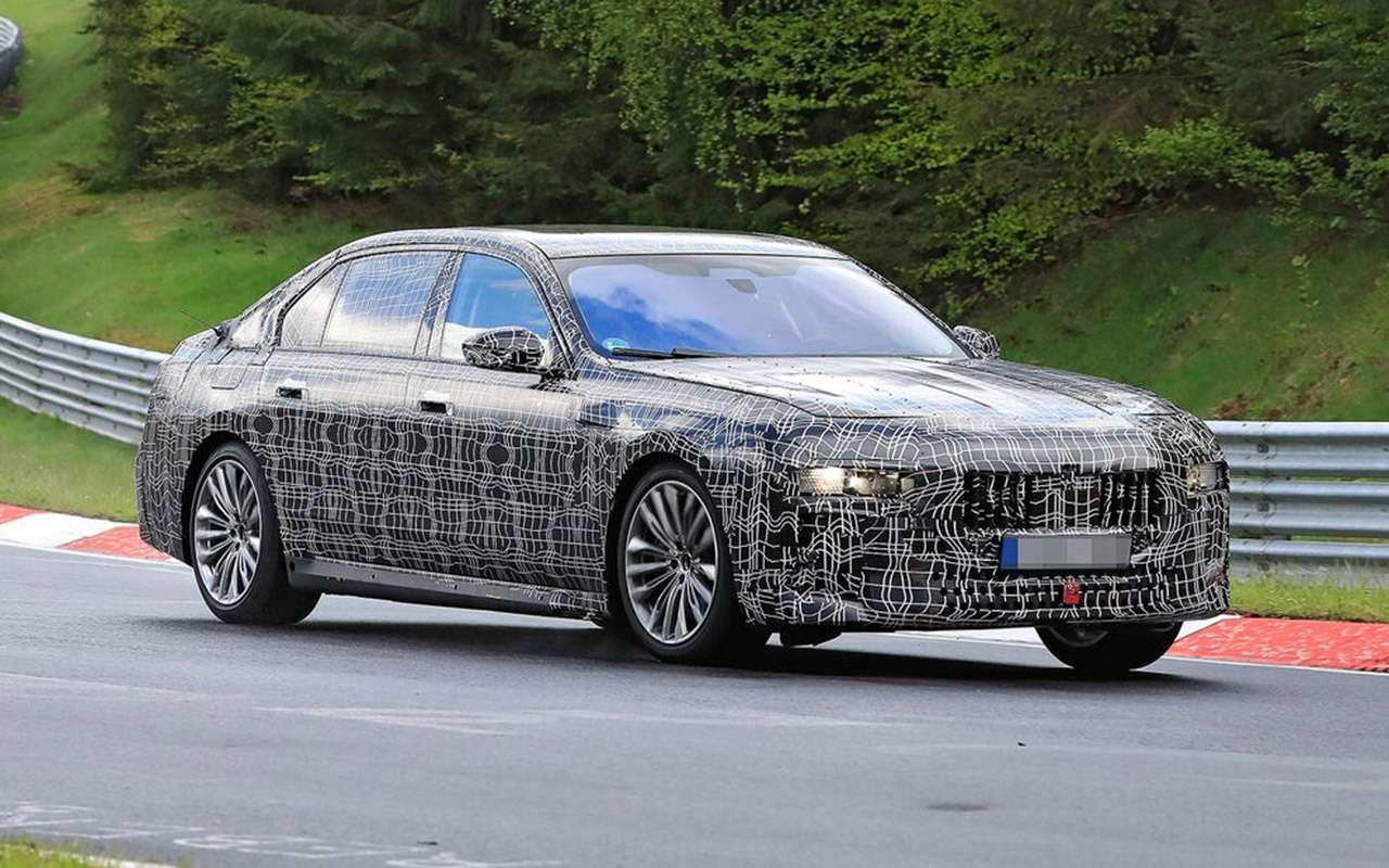 Новая «семерка» BMW: другая платформа идата дебюта— фото 1248933