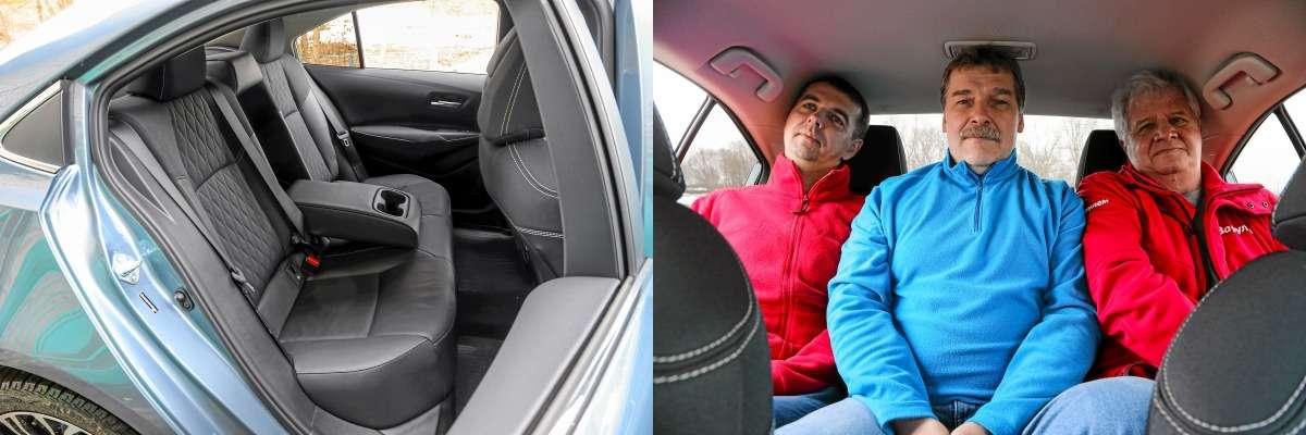 Новые Corolla иElantra плюс С4: большой тест седанов С‑класса— фото 970549