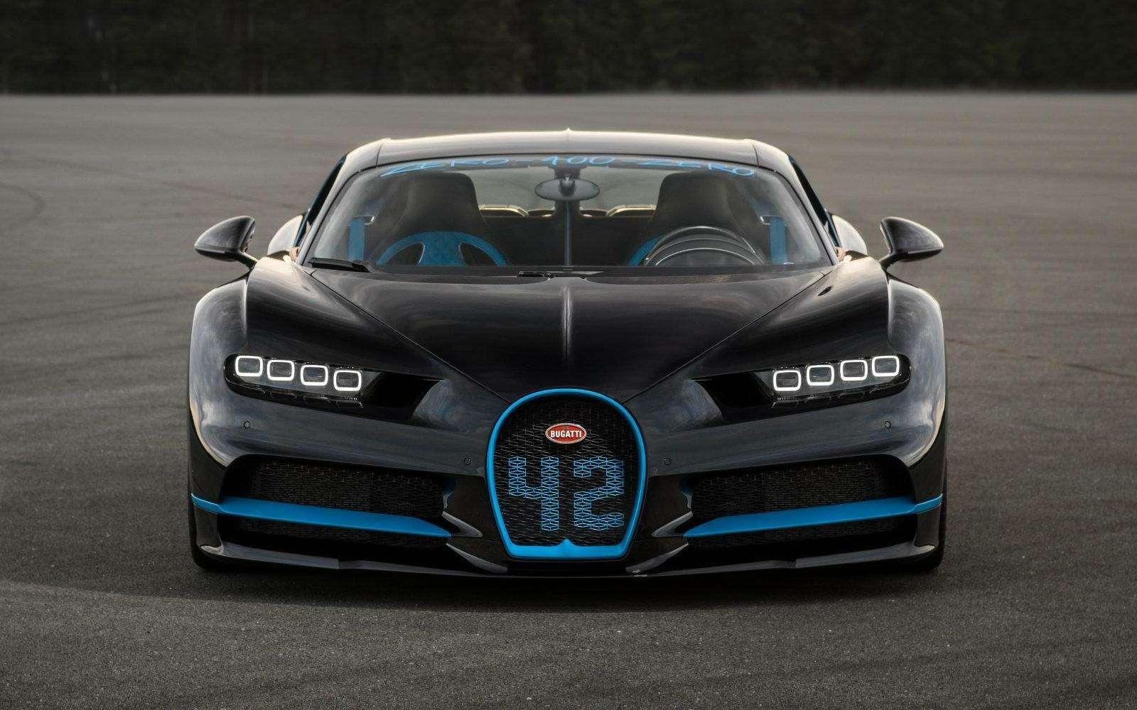 0-400-0 км/ч— видео рекордного заезда Bugatti Chiron— фото 794902