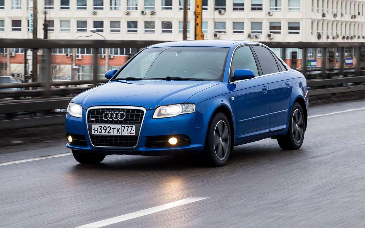 Почему явыбрал Audi A42006 года, ане новую Гранту— вывод эксперта— фото 975264