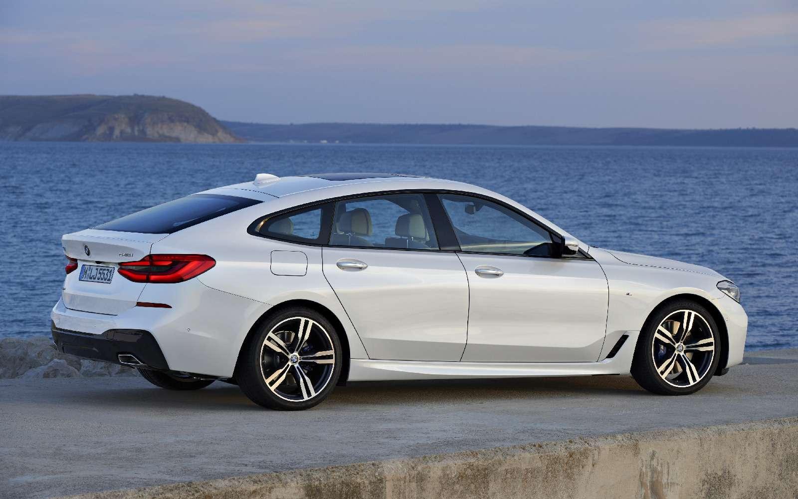 Новый лифтбек BMW 6-й серии Gran Turismo— лучше, чем «сарай»!— фото 764543