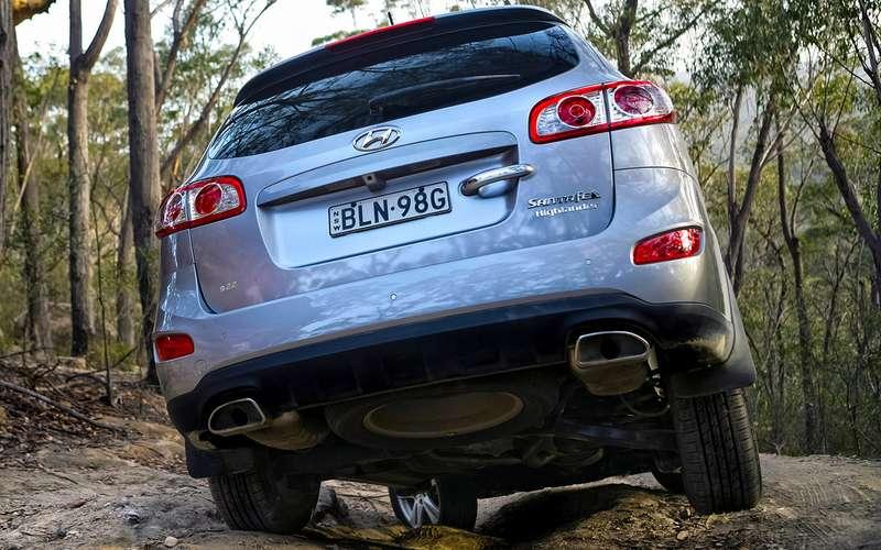 Hyundai Santa Feспробегом: все его болячки