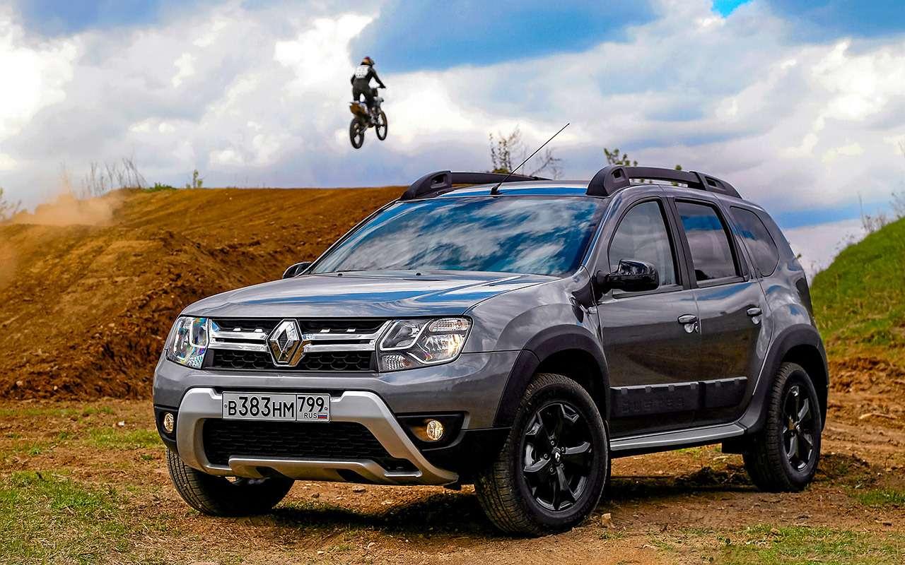 Renault Duster— тест-драйв новой версии— фото 976304