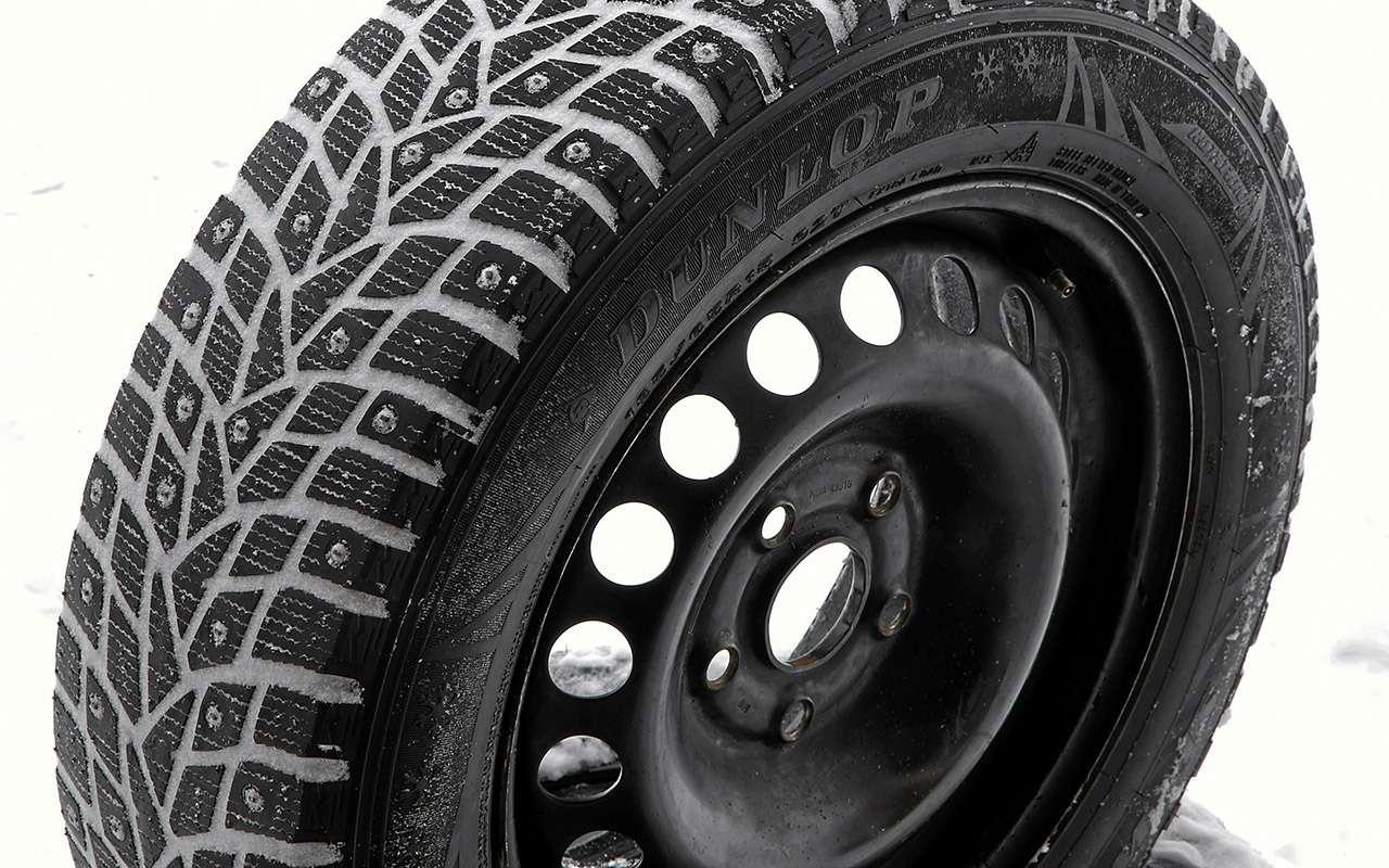 Шипованные шины 185/65R15для бюджетных автомобилей— тест «Зарулем»— фото 794346