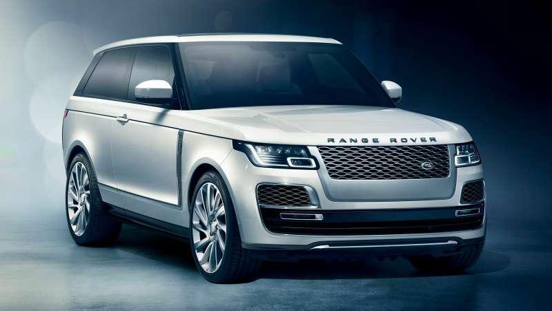 Range Rover SVCoupe: трехдверный, нонеукороченный!