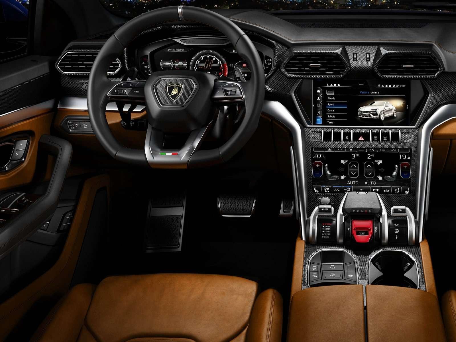 Lamborghini Urus: самый крутой кроссовер вмире— фото 823189