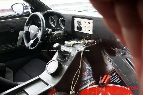 Roding Roadster inside