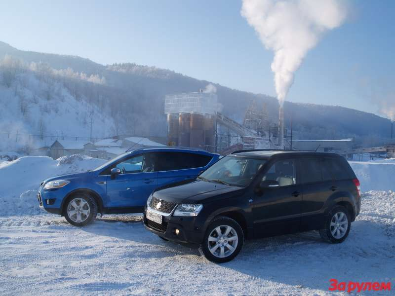 Ford Kuga, Suzuki Grand Vitara