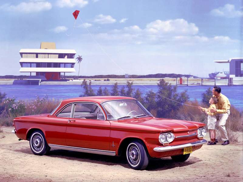 7 chevrolet corvair monza coupe no copyright