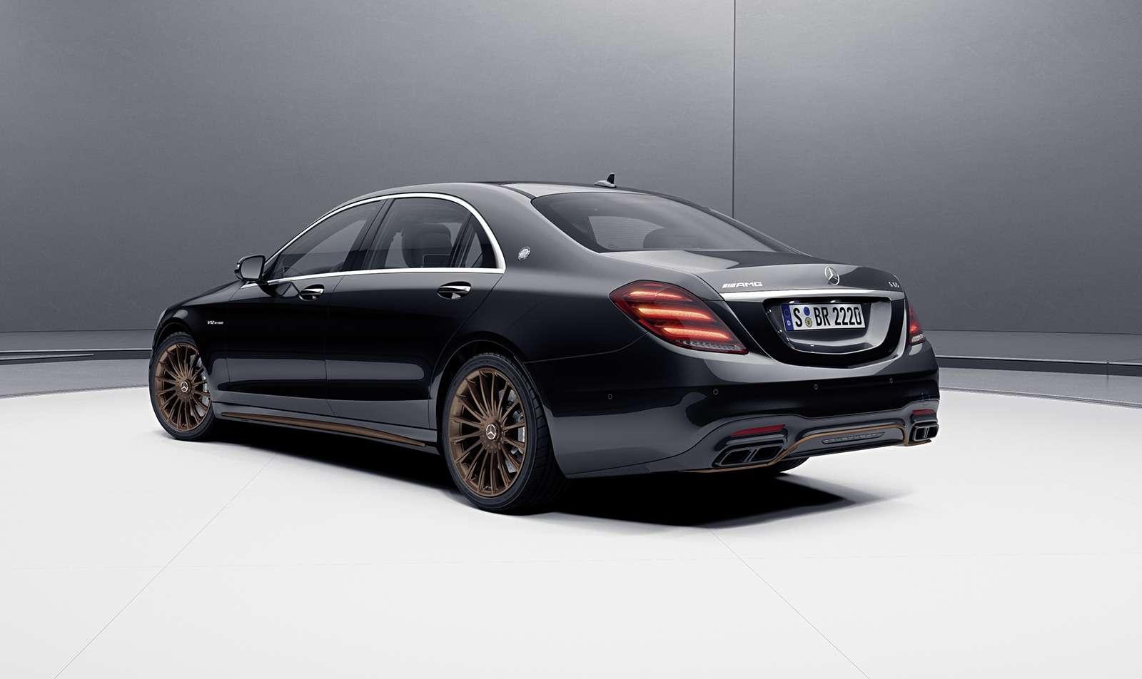 Mercedes-AMG простился сдвигателем V12 спецсерией S-класса— фото 954094