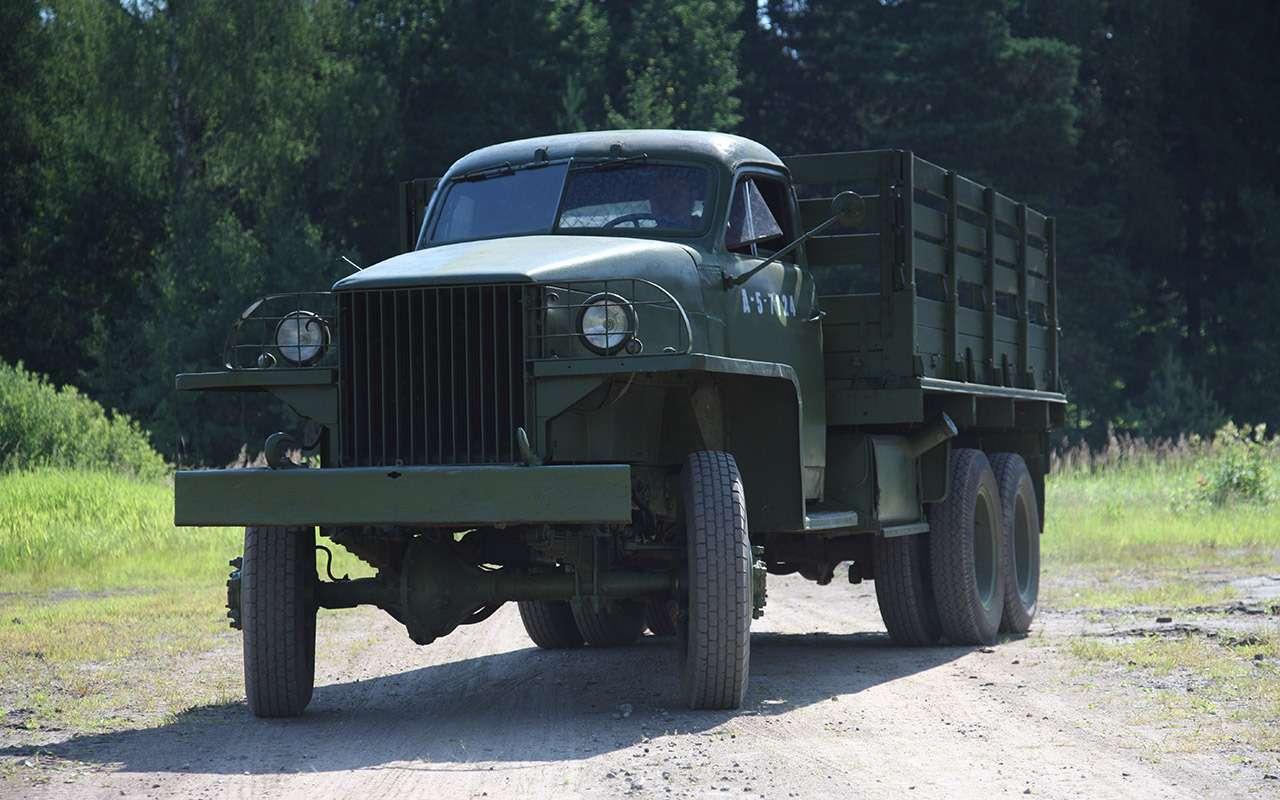 Заслуженный грузовик СССР: сколько внем американского?— фото 1240485