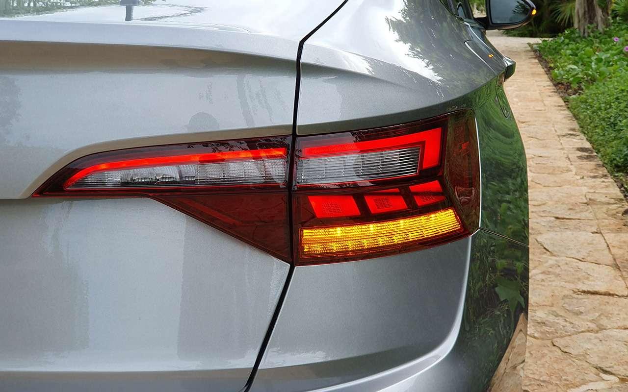 Новый седан Volkswagen Jetta: первый тест-драйв!— фото 1007011