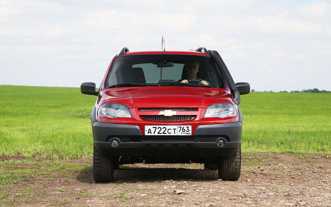 Обновленная Chevrolet Niva: тест нашум ирасход— фото 982277