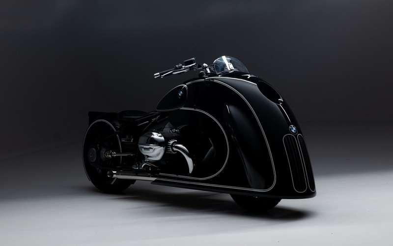 Новый странный байк BMW: встиле ар-деко