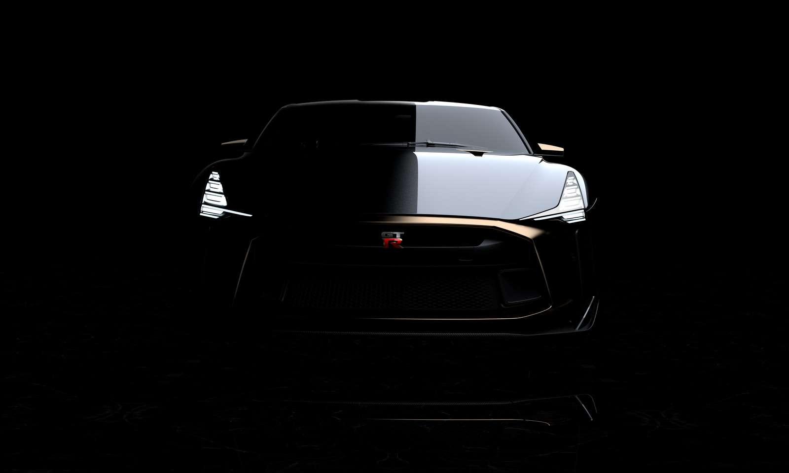 Золотой стандарт: Nissan иItaldesign представили юбилейный GT-R— фото 882708
