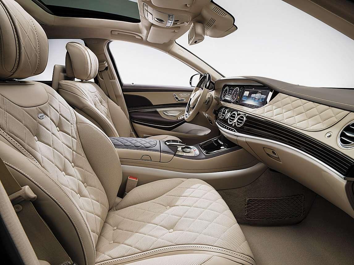Mercedes-Maybach S600(X222) 2014