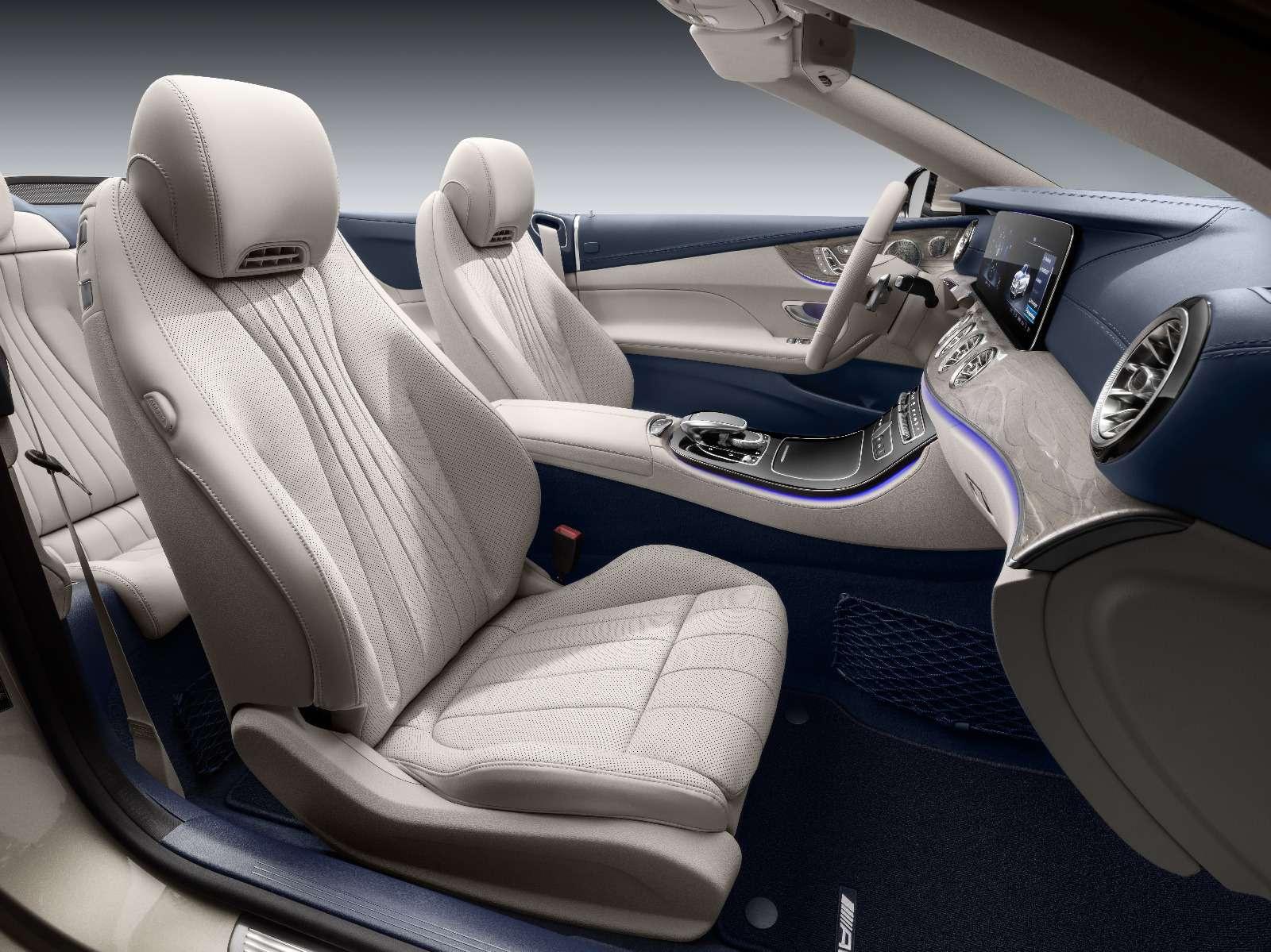 Новый кабриолет Mercedes-Benz E-класса оснастили полным приводом— фото 715154