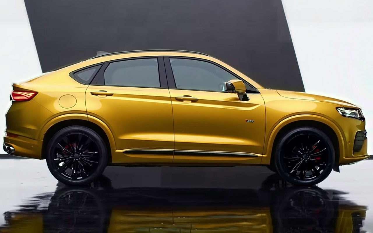 Geely показала новый кросс-купе Xingyue— фото 960676
