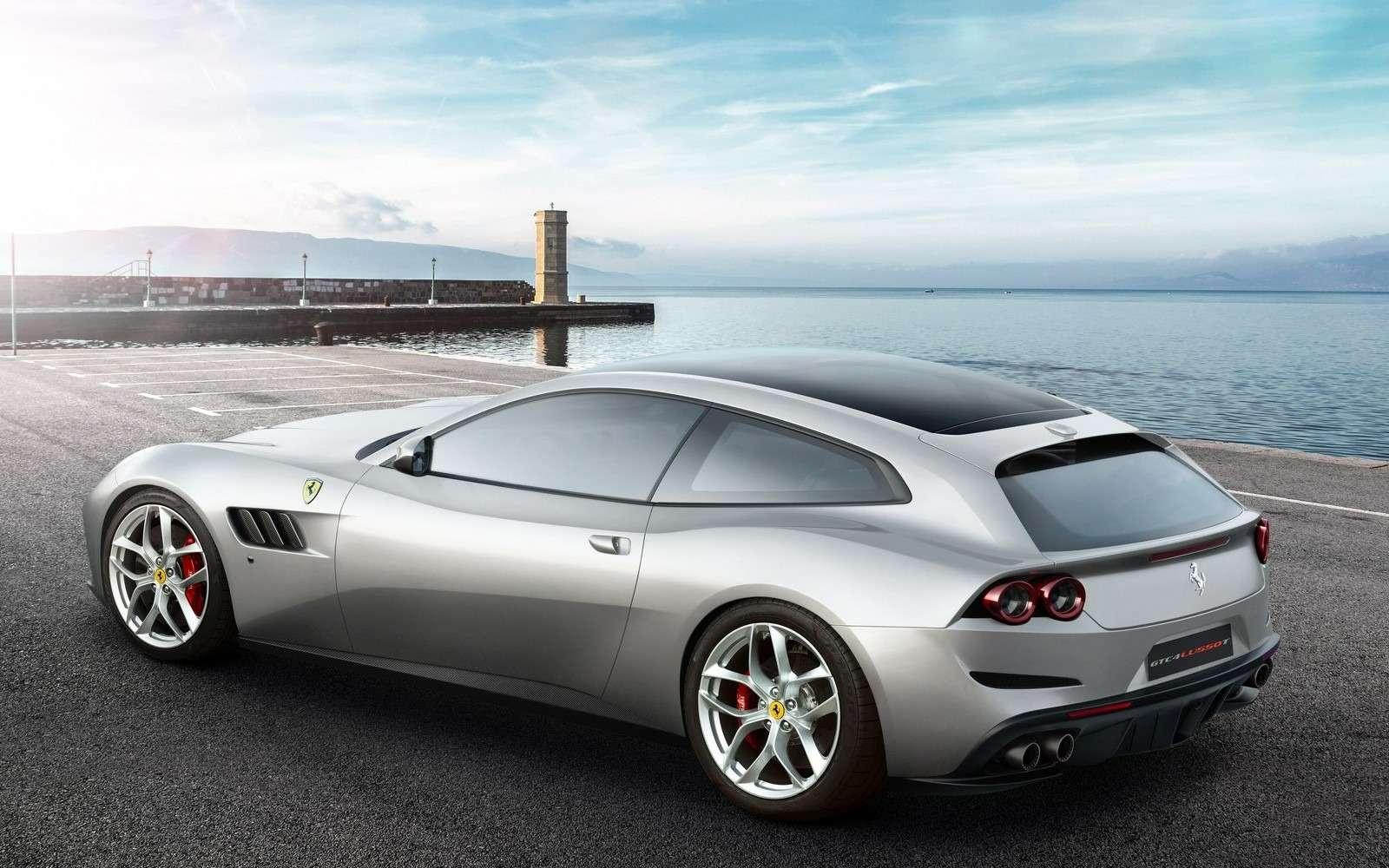 Ferrari GTC4Lusso T: без полного привода, ностурбонаддувом— фото 638283