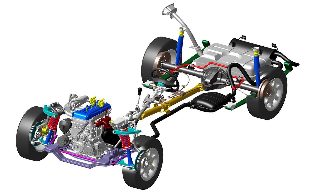 11классных инженерных решений последней Волги ГАЗ-3111— фото 1263289