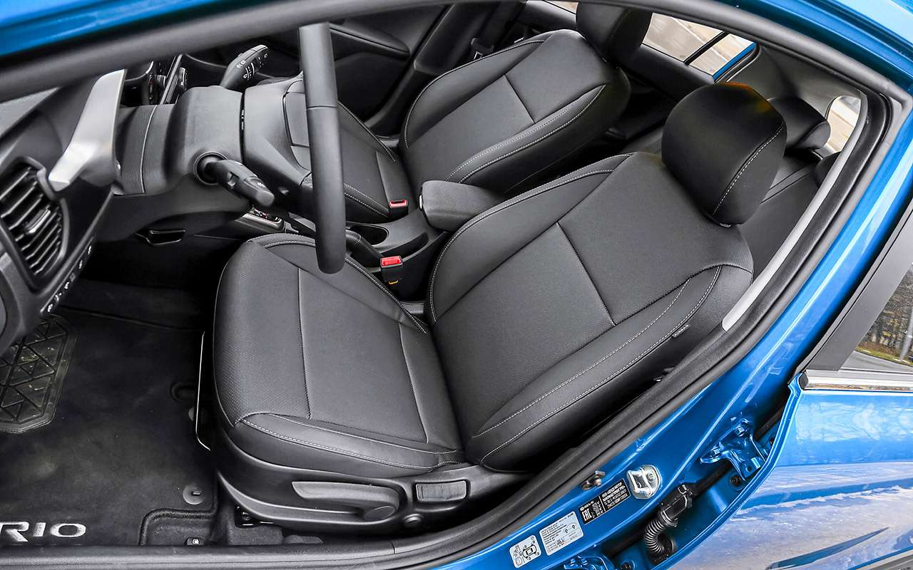 KiaRio X— тест последнего (почти) хэтчбека вВ‑классе— фото 1211293