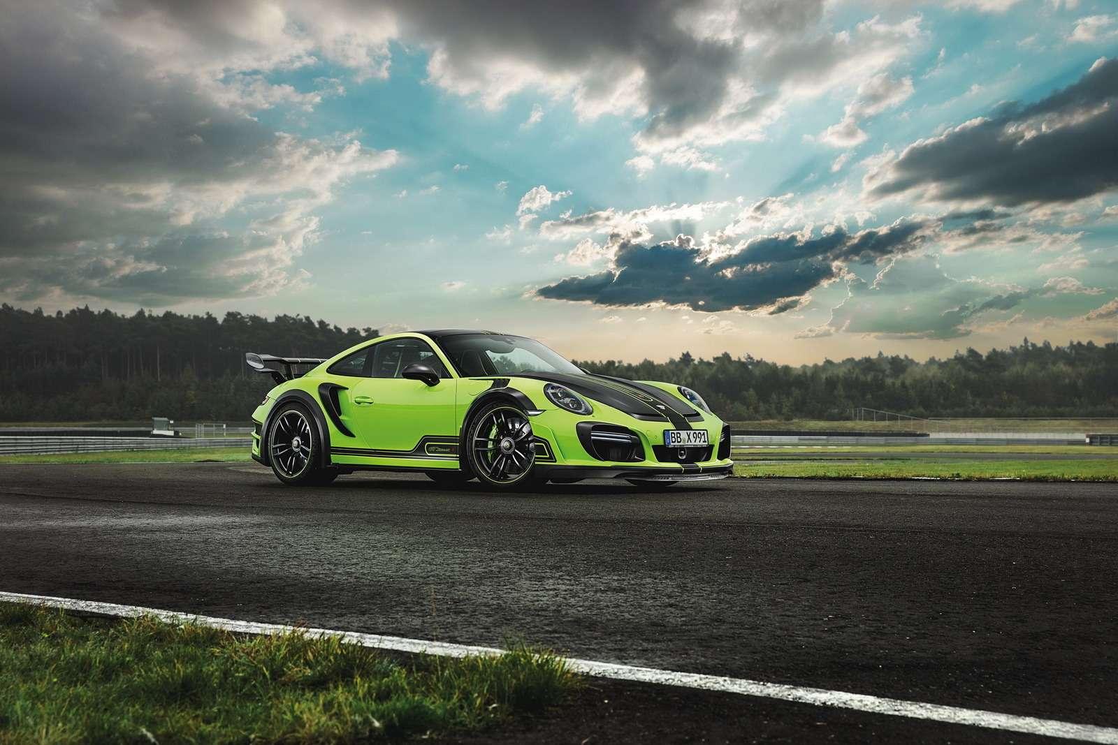 Искусство устрашения: Porsche 911 GTStreetR пройдет подорогам огнем имечом— фото 660008