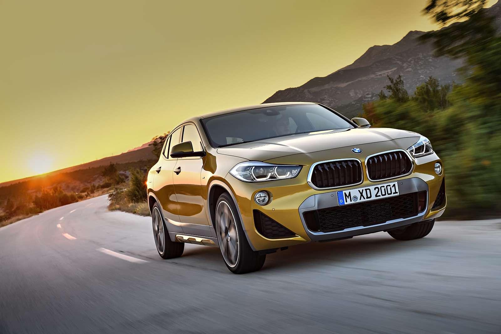 BMWрассекретила российские цены накроссовер X2— фото 809839