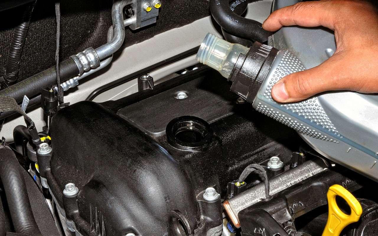 Промывка двигателя при замене масла: напользу или вовред?— фото 710571