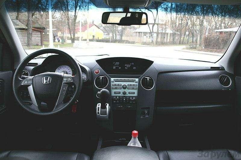 Тест  Honda Pilot: Итанки наши быстры— фото 5821