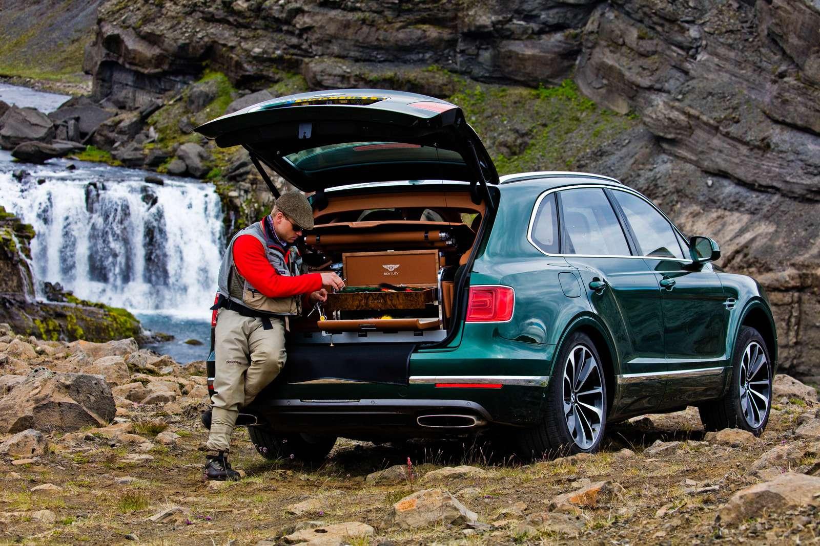 Bentley Bentayga поедет нарыбалку— фото 611157
