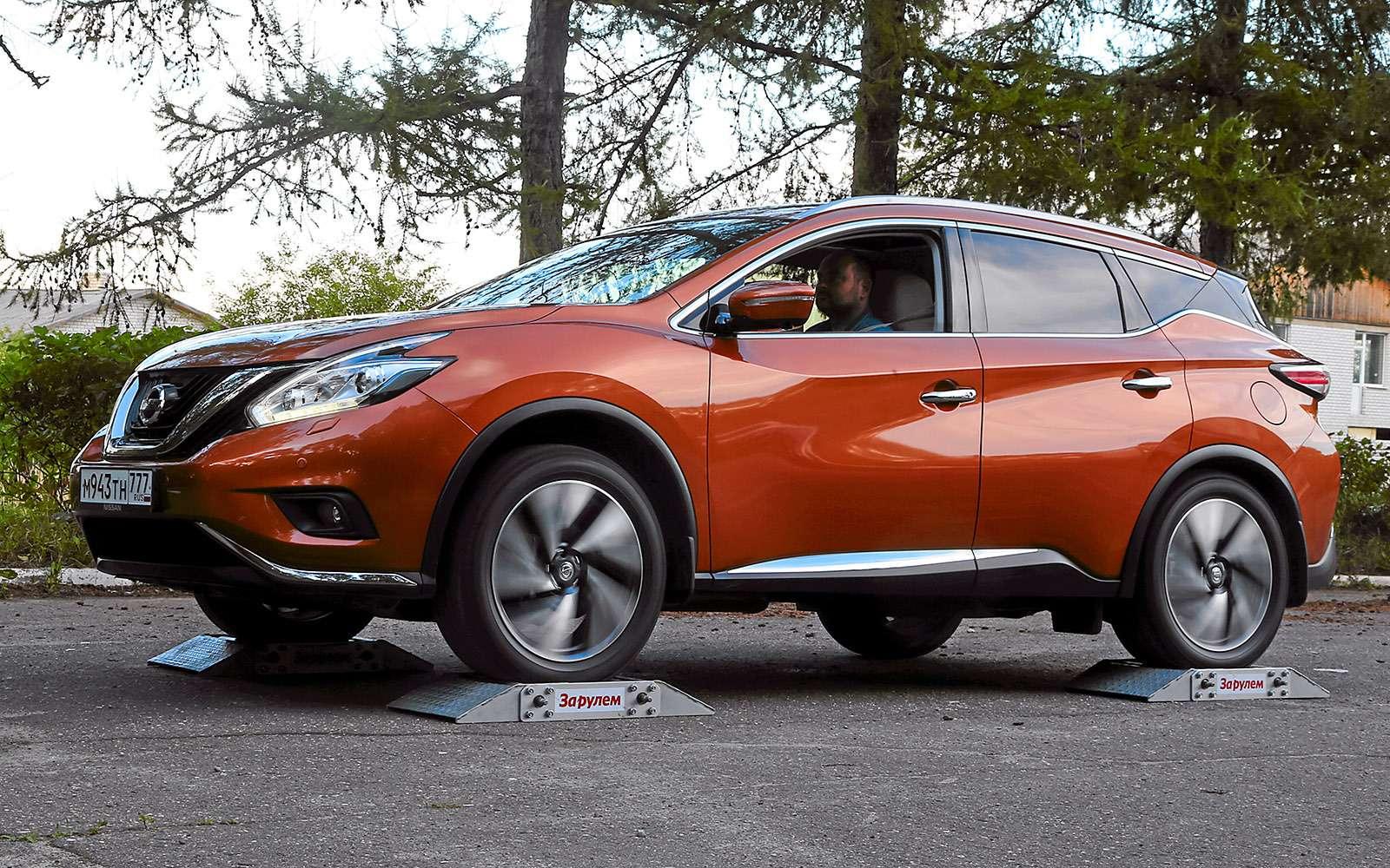 Новый Nissan Murano против конкурентов: длинные рубли— фото 691691