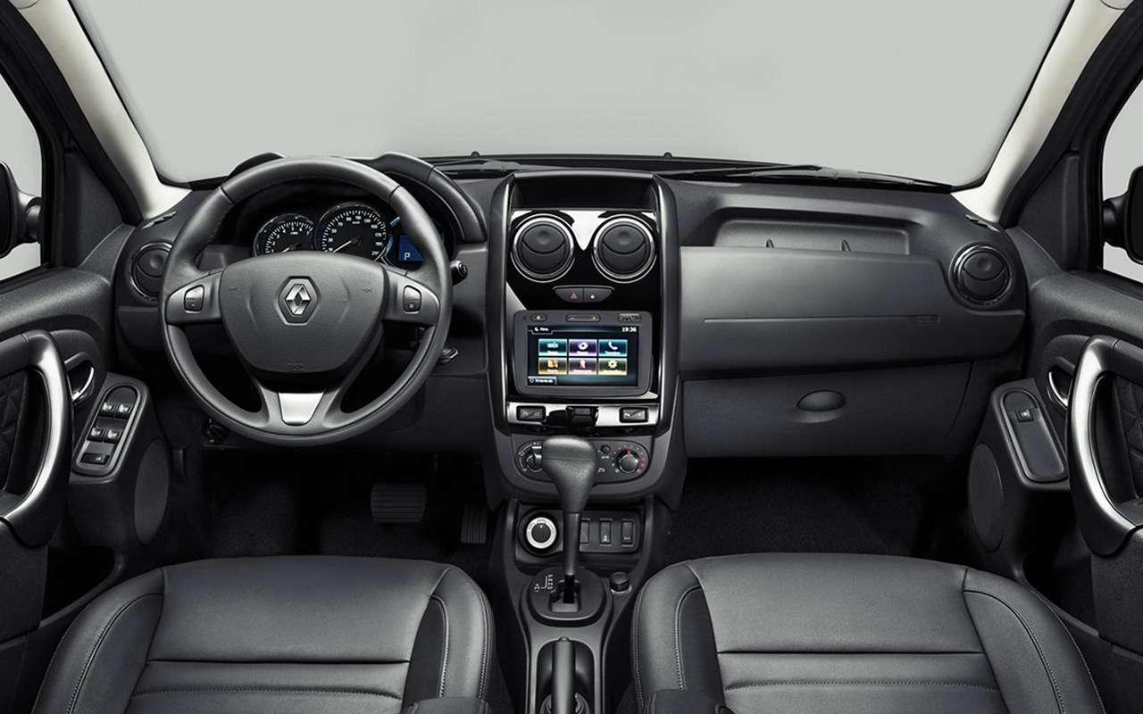 «Нафаршированный» Renault Sandero Stepway или «пустой» Duster: что выбрать?— фото 890413