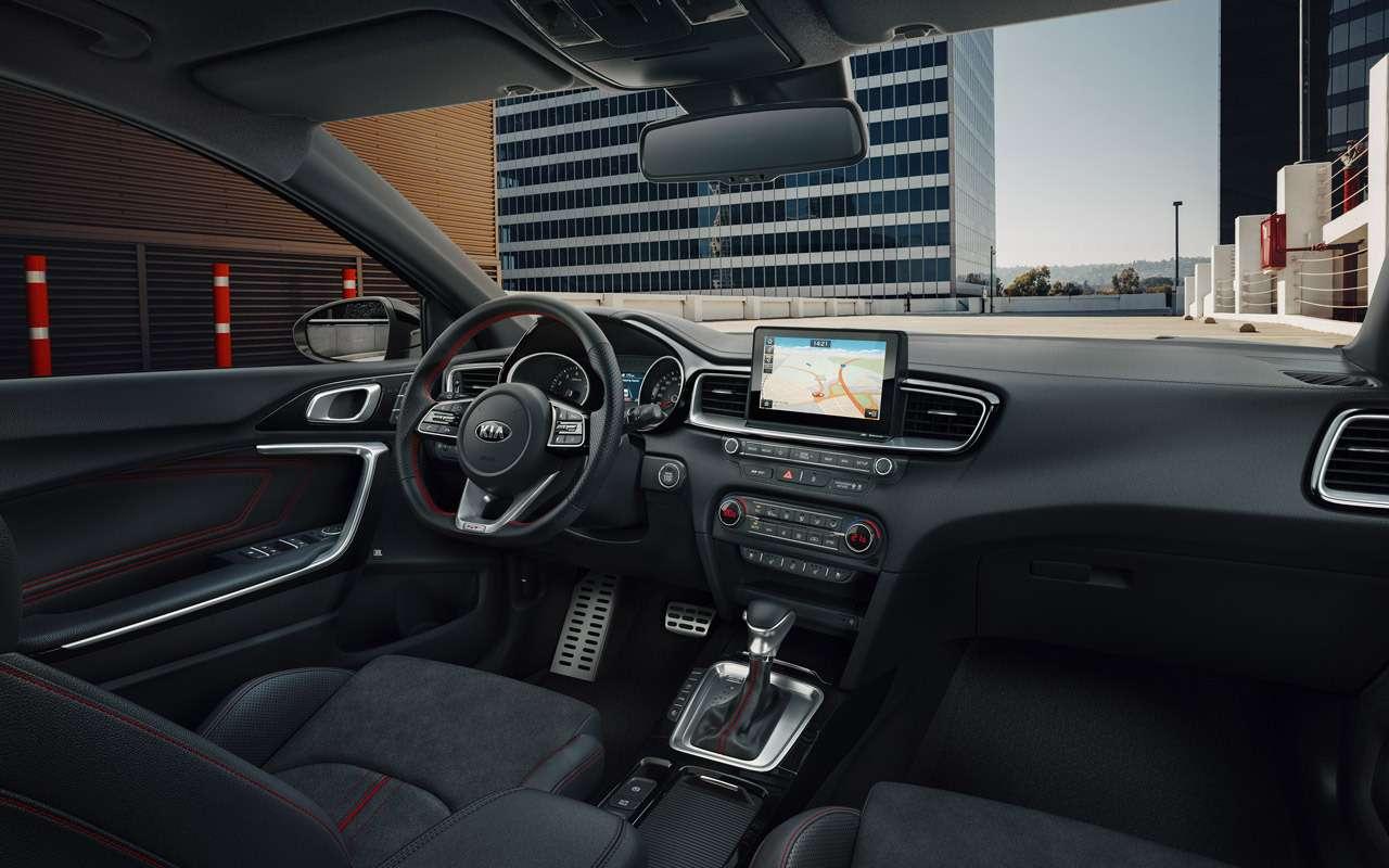 Новый Kia Ceed GT: ставка науправляемость извук— фото 904917