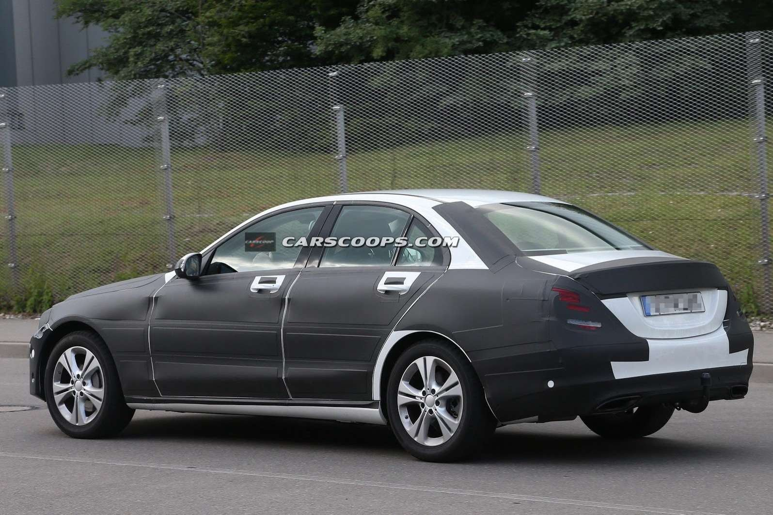 2015 Mercedes C Class Undisguised Carscoops7[3] no copyright