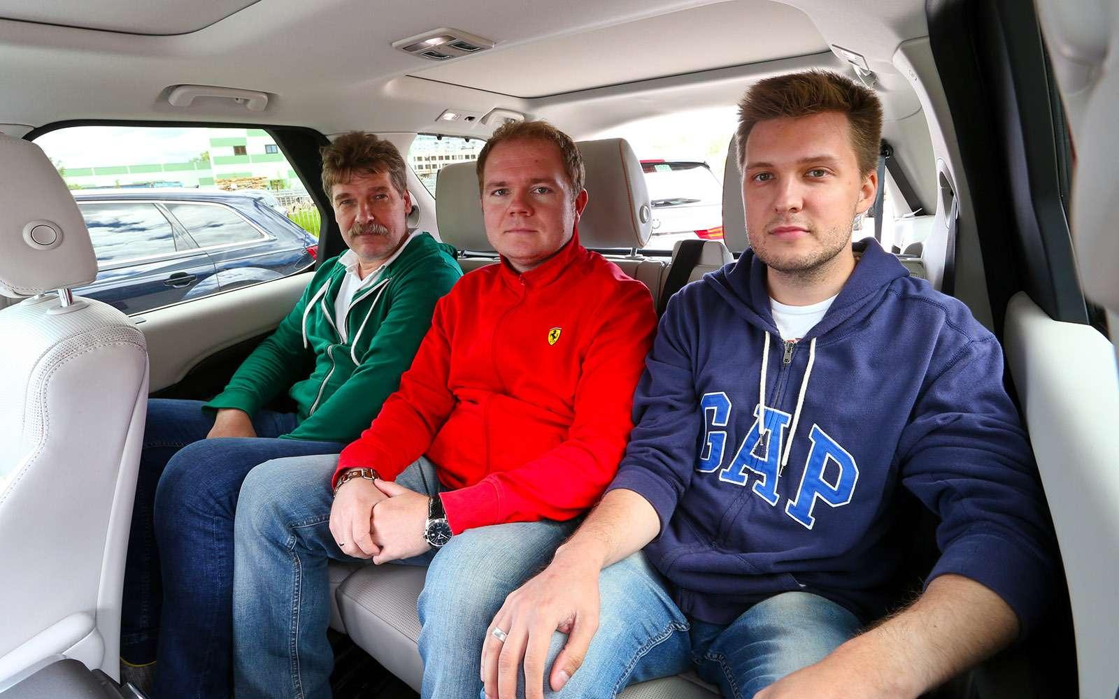 Новый Land Rover Discovery против конкурентов— тест ЗР— фото 784664
