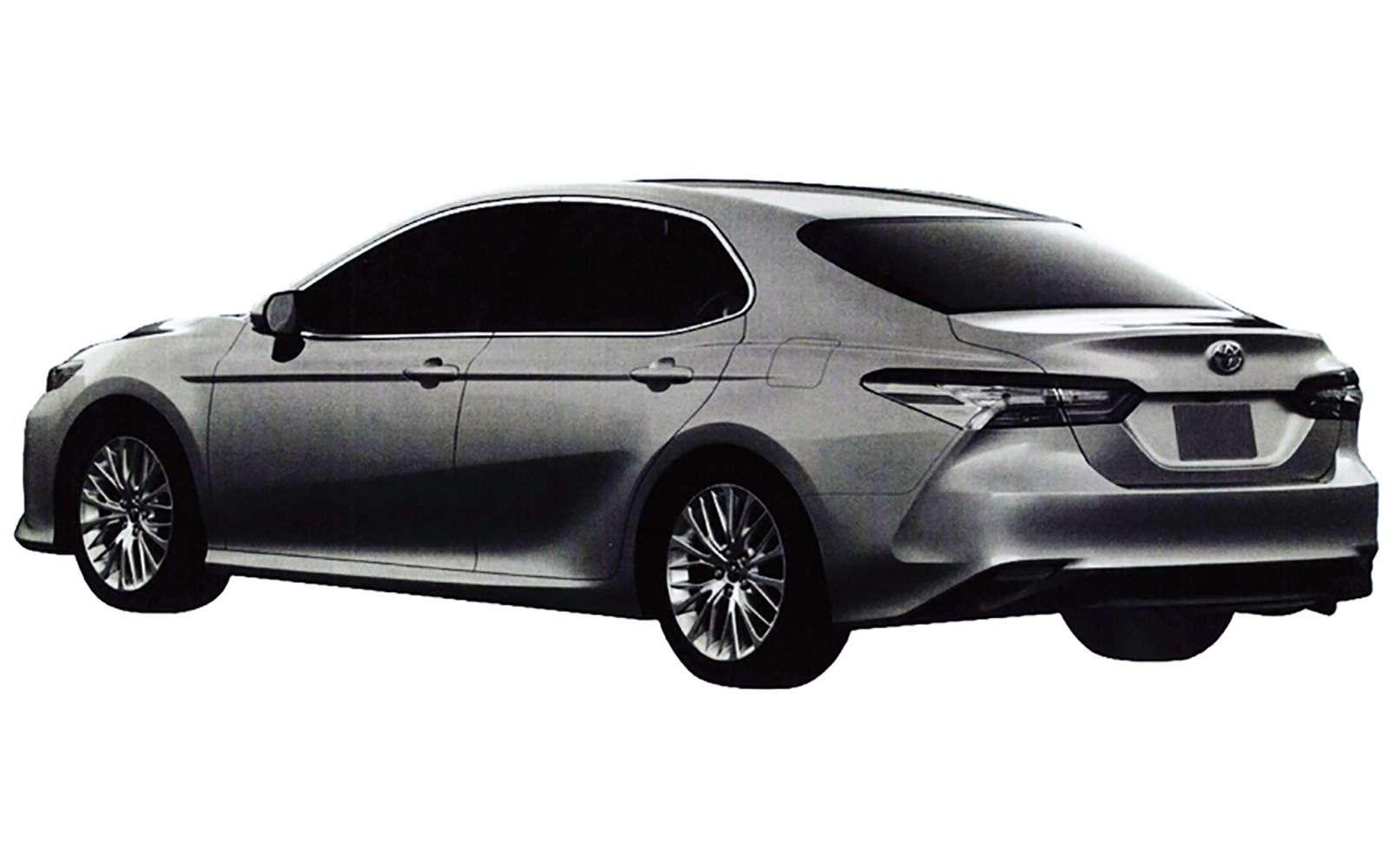 Новая Toyota Camry дляРоссии: первые подробности— фото 819228