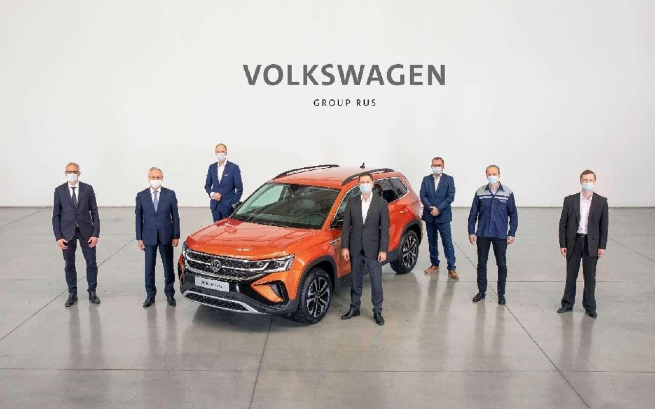 Началось российское производство Volkswagen Taos— фото 1249594