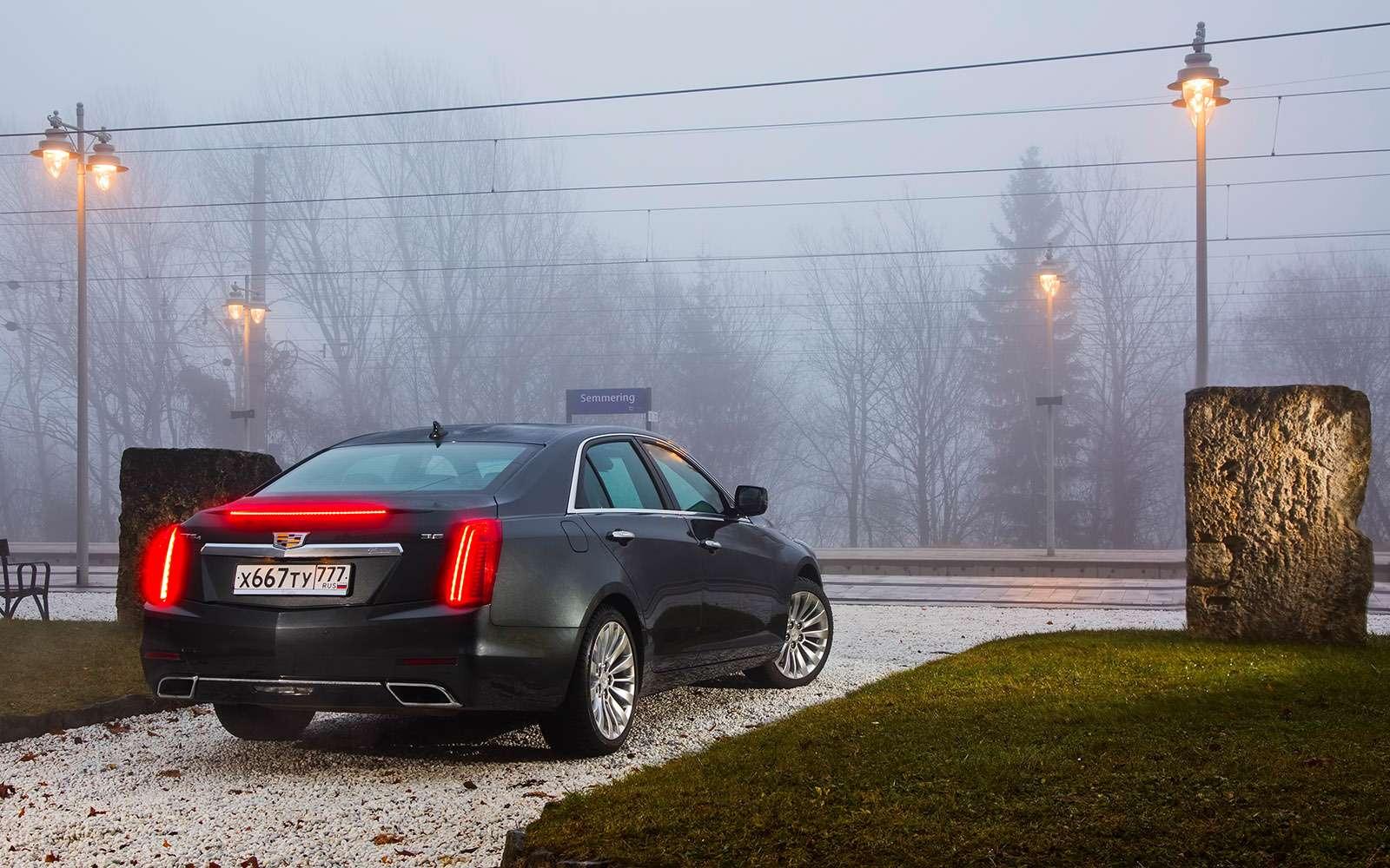 Обновленный Cadillac CTS: здравствуй ипрощай— фото 684554
