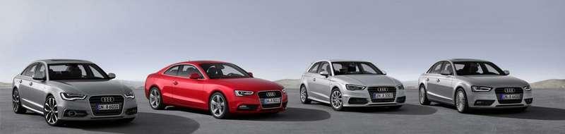 Audi представит сверхэкономичные модели A4, A5, A6