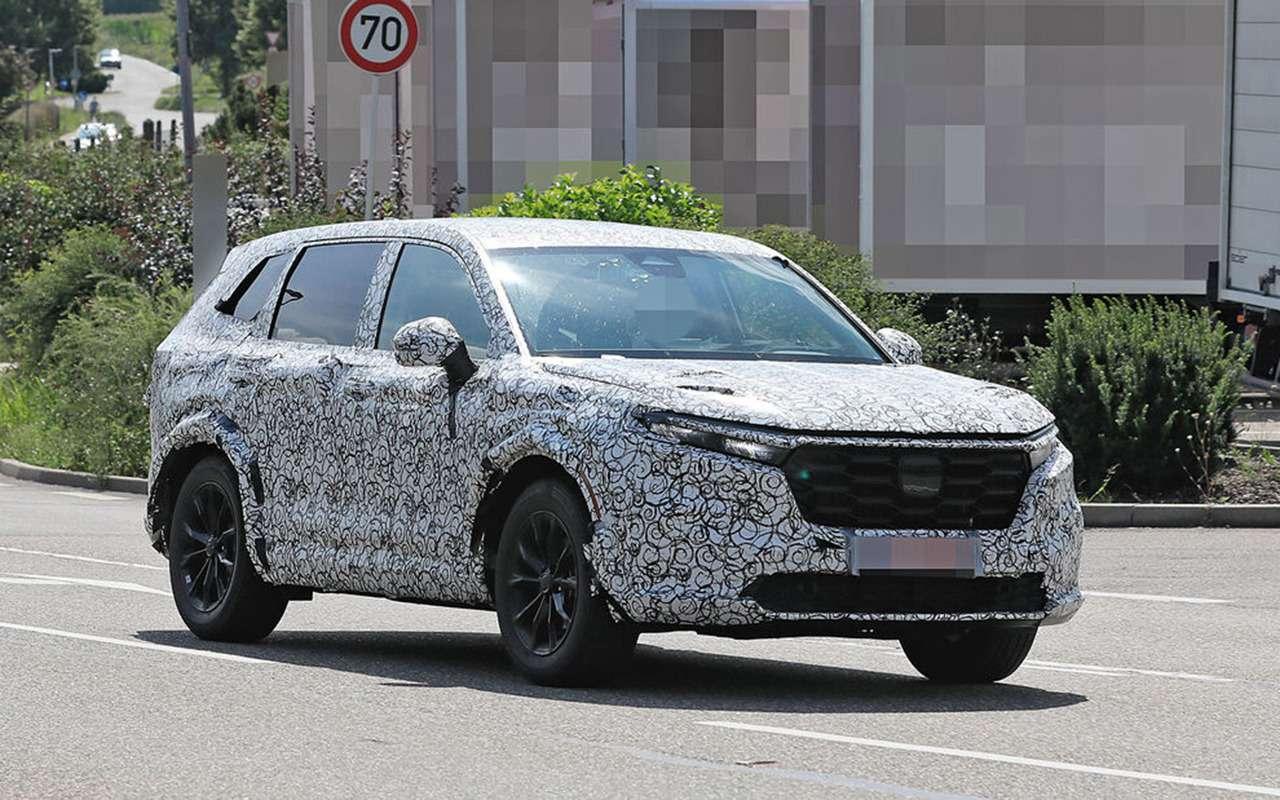 Honda CR-V нового поколения выехала натесты— фото 1270742