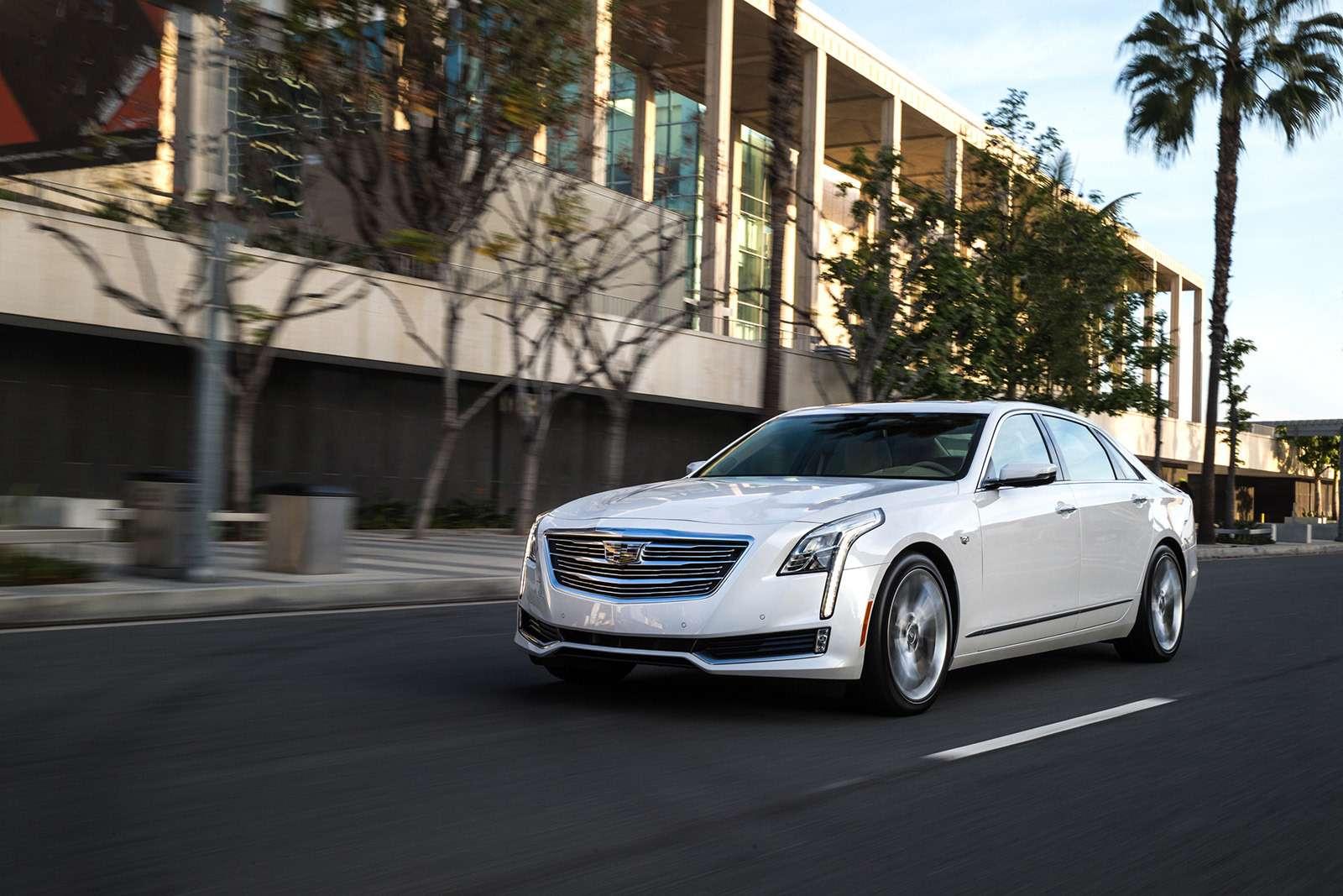 Флагманский седан Cadillac: цены икомплектации вРоссии— фото 823421