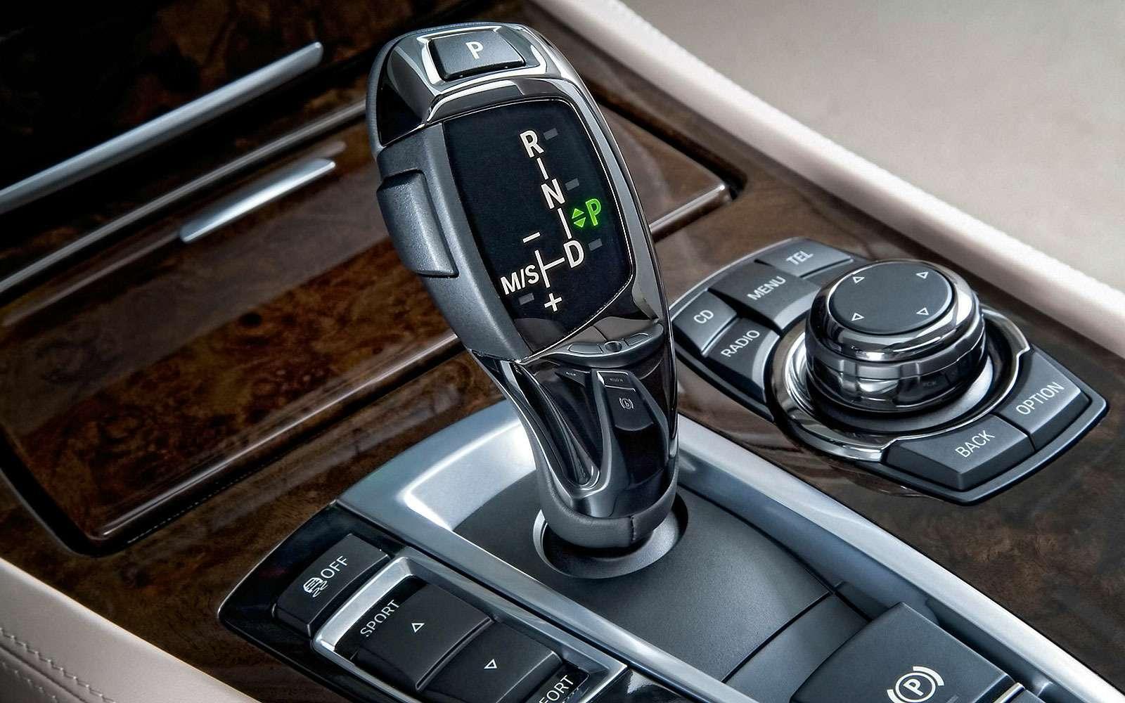 Селектор автомата BMW