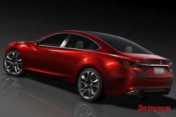 Mazda Takeri Concept side-rear view