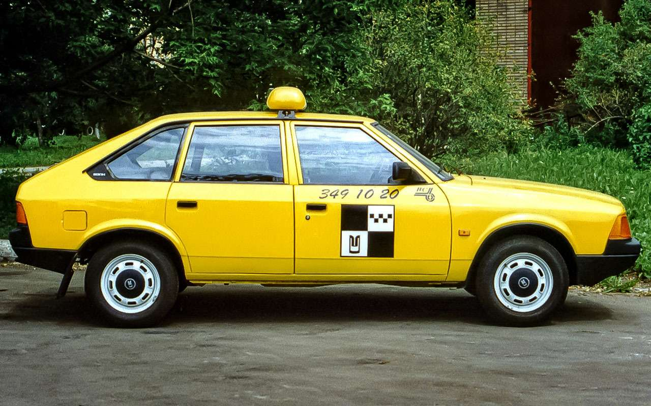 Москвич 2141 Такси