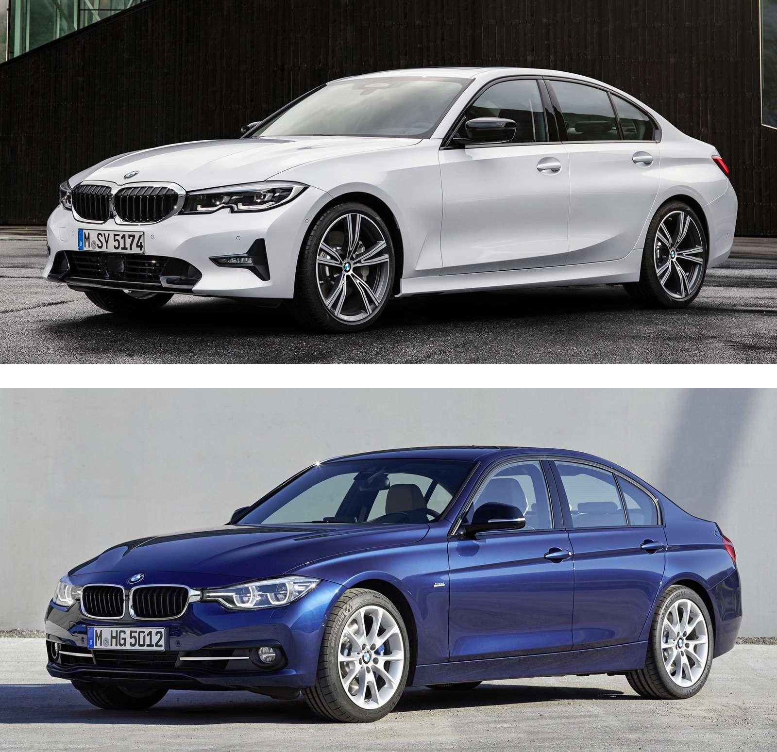 Новая BMW 3-й серии против старой: какая красивее?— фото 912569
