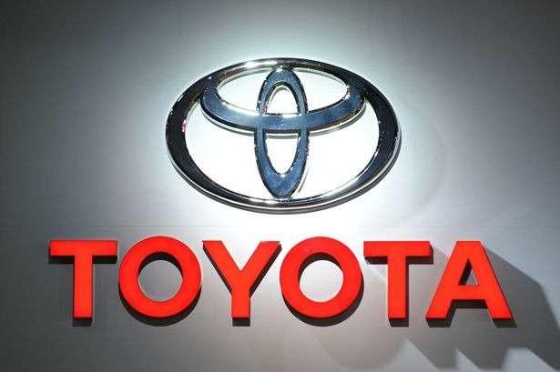 no copyright Toyota Logo
