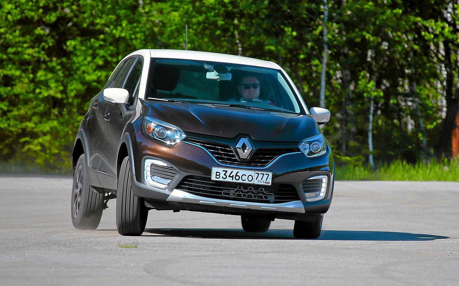 Renault Kaptur, Renault Duster, Suzuki Vitara: мода от-каптюр— фото 619994