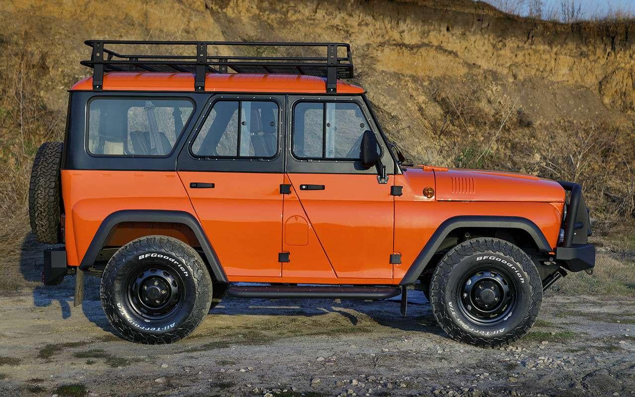 Рыжая «Экспедиция»— стартовали продажи внедорожника УАЗ Хантер— фото 973008